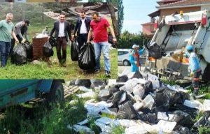 Çöp konusunda vatandaşlara uyarı
