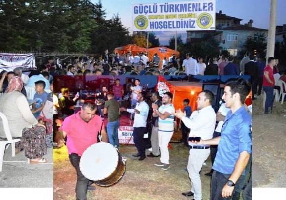 Güçlü Türkmenler Taraftar Grubu şenlik yaptı