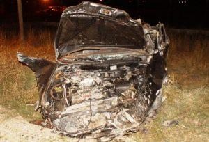 Çubuk'ta Trafik Kazası: 1 Ölü 2 Yaralı