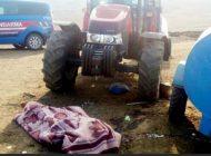 Traktörün altında kalan kişi yaşamını yitirdi
