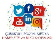 Çubuk sosyal medya hesapları