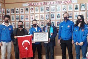 Engelsiz kulüpten Terör Mağdurları Derneğine ziyaret
