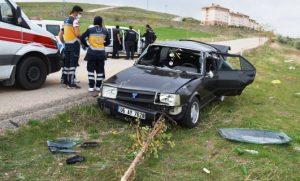 Toki yolunda ki kazada 1 kişi öldü, 2 kişi yaralı